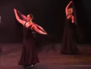 Flamenco Dance alegrias Gades performed by group Andalucia