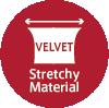 flamenco knit stretch material