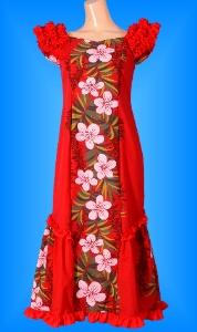 フラダンス衣装ムームー MU01rの詳細画像を見る