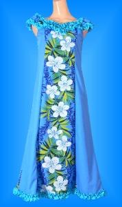 フラダンス衣装ムームー MU02bの詳細画像を見る