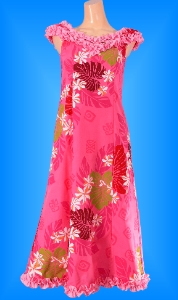 フラダンス衣装ムームー MU02p1の詳細画像を見る