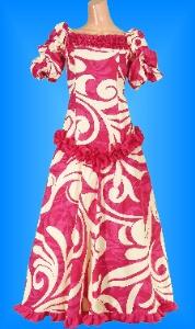 フラダンス衣装ムームー MU03p4の詳細画像見る