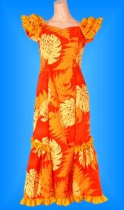 フラダンス衣装ムームー MU01oの詳細画像を見る