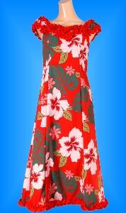 フラダンス衣装ムームー MU02r3の詳細画像見る
