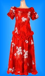 フラダンス衣装ムームー MU03r1の詳細画像を見る
