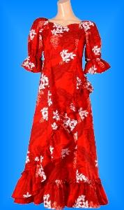 フラダンス衣装ムームー MU04r1の詳細画像見る