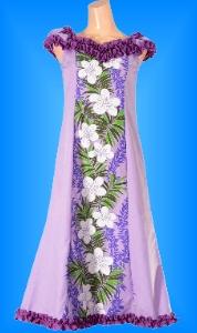 フラダンス衣装ムームー MU02pu1の詳細画像を見る