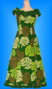 フラダンス衣装ムームー MU02g2の詳細画像を見る