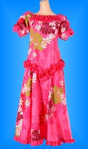 フラダンス衣装ムームー MU03p1の詳細画像を見る