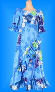 フラダンス衣装ムームー MU04b1の詳細画像見る