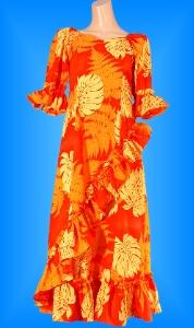 フラダンス衣装ムームー MU04o1の詳細画像を見る