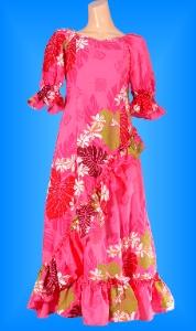 フラダンス衣装ムームー MU04p1の詳細画像を見る