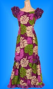 フラダンス衣装ムームーMU01pu3の詳細画像を見る