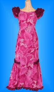 フラダンス衣装ムームーMU01p4の詳細画像を見る
