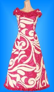 フラダンス衣装ムームー MU02p4の詳細画像見る