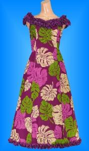 フラダンス衣装ムームー MU02pu2の詳細画像を見る