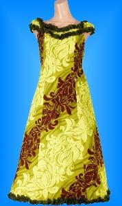 フラダンス衣装ムームー MU02g4の詳細画像を見る