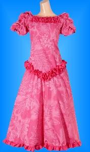 フラダンス衣装ムームー MU03p5の詳細画像を見る