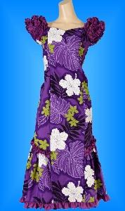 フラダンス衣装ムームーMU01pu5の詳細画像を見る