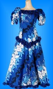 フラダンス衣装ムームー MU03b8の詳細画像を見る