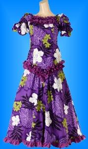 フラダンス衣装ムームー MU03pu5の詳細画像を見る