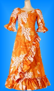 フラダンス衣装ムームー MU04o3の詳細画像を見る