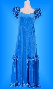 フラダンス衣装ムームー MU01Blb1の詳細画像見る