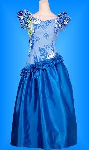 フラダンス衣装ムームーMU011bl1の詳細画像を見る