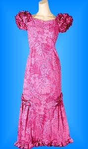 フラダンス衣装ムームーMU01p7の詳細画像を見る