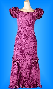 フラダンス衣装ムームーMU01pu7の詳細画像を見る