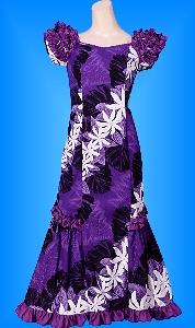 フラダンス衣装ムームーMU01pu9の詳細画像を見る