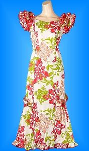 フラダンス衣装ムームーMU01r12の詳細画像を見る