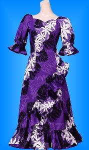 フラダンス衣装ムームー MU04pu8の詳細画像見る
