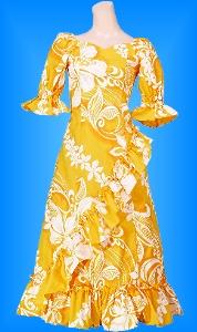 フラダンス衣装ムームー MU04y1の詳細画像見る