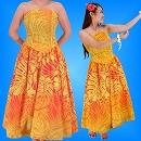 フラダンス衣装ムームー1759oの詳細画像を見る